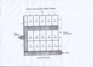Site Plan Alam Pesona